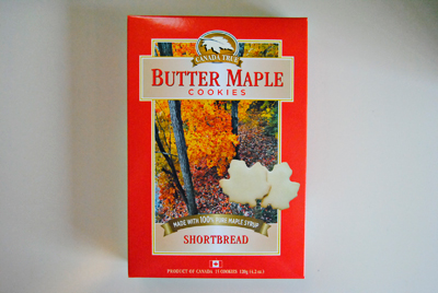 BUTTER MAPLE SHORTBREAD