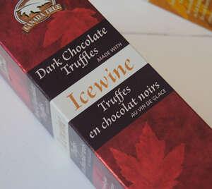 Dark Chocolate Icewine Truffles