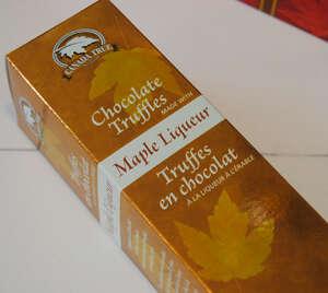 Maple Liqueur Ice wine Chocolates