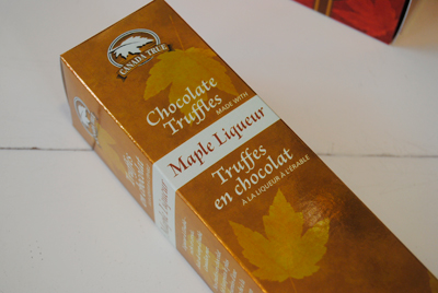 Maple Liqueur Ice wine Chocolates