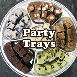 Fudge Party Trays