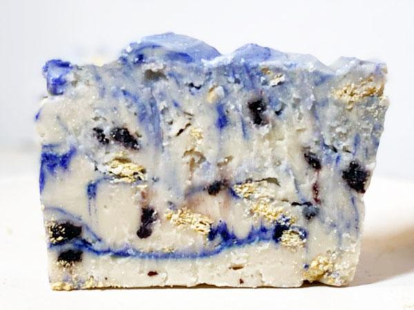 Lemon Blueberry Cheesecake Fudge